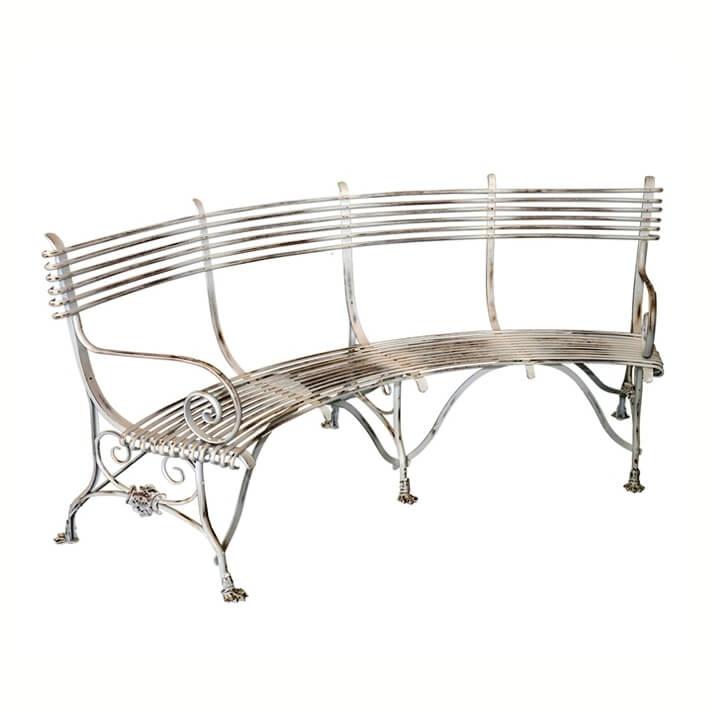 Luxus Gartenbank Metall Mit Gravur | Gartenbänke Ideen
