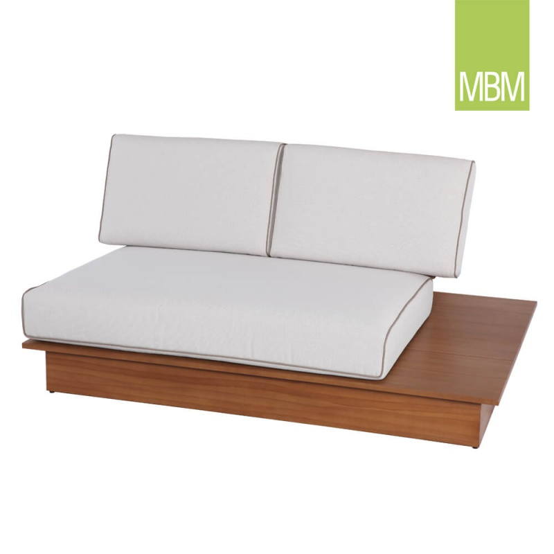 garten couch 2 sitzer la villa von mbm. Black Bedroom Furniture Sets. Home Design Ideas