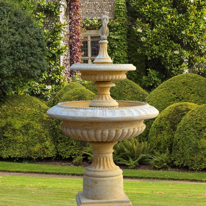 Garten kaskaden springbrunnen lanthenay - Garten springbrunnen ...