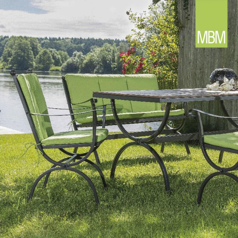 garten sitzgruppe romeo aus schmiedeeisen. Black Bedroom Furniture Sets. Home Design Ideas