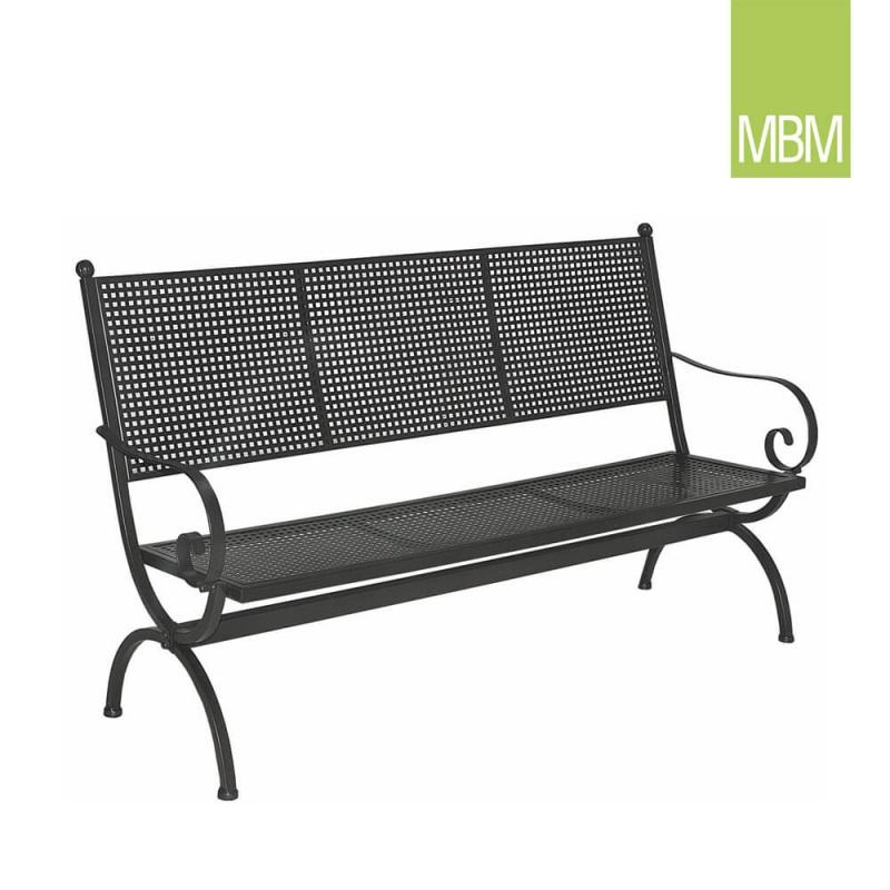 gartenbank 3 sitzer mit lehne romeo mbm. Black Bedroom Furniture Sets. Home Design Ideas
