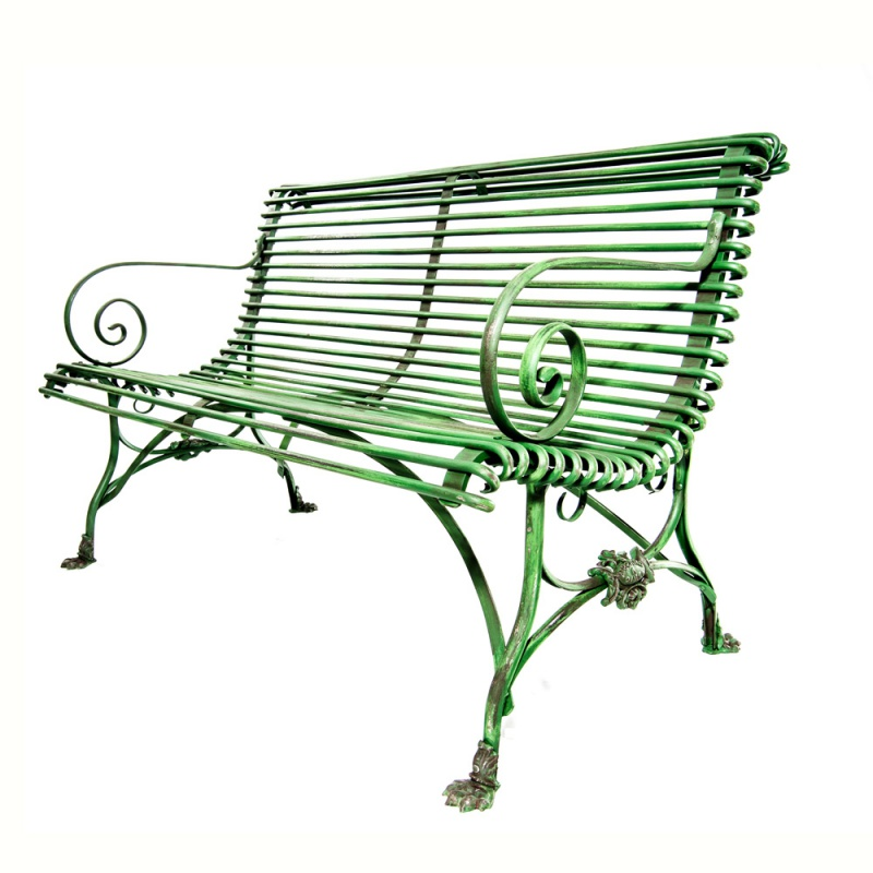 gusseisen sitzbank libretto 2 sitzer. Black Bedroom Furniture Sets. Home Design Ideas