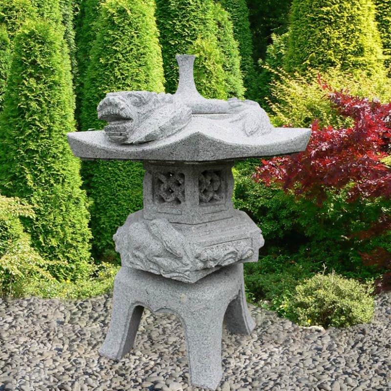 garten stein laterne ichikawa. Black Bedroom Furniture Sets. Home Design Ideas