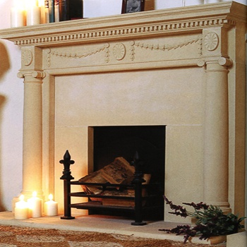 kaminsims antik blickling hall. Black Bedroom Furniture Sets. Home Design Ideas