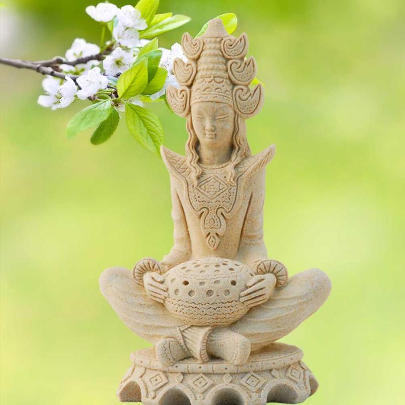 kleine buddha deko figur sakayas