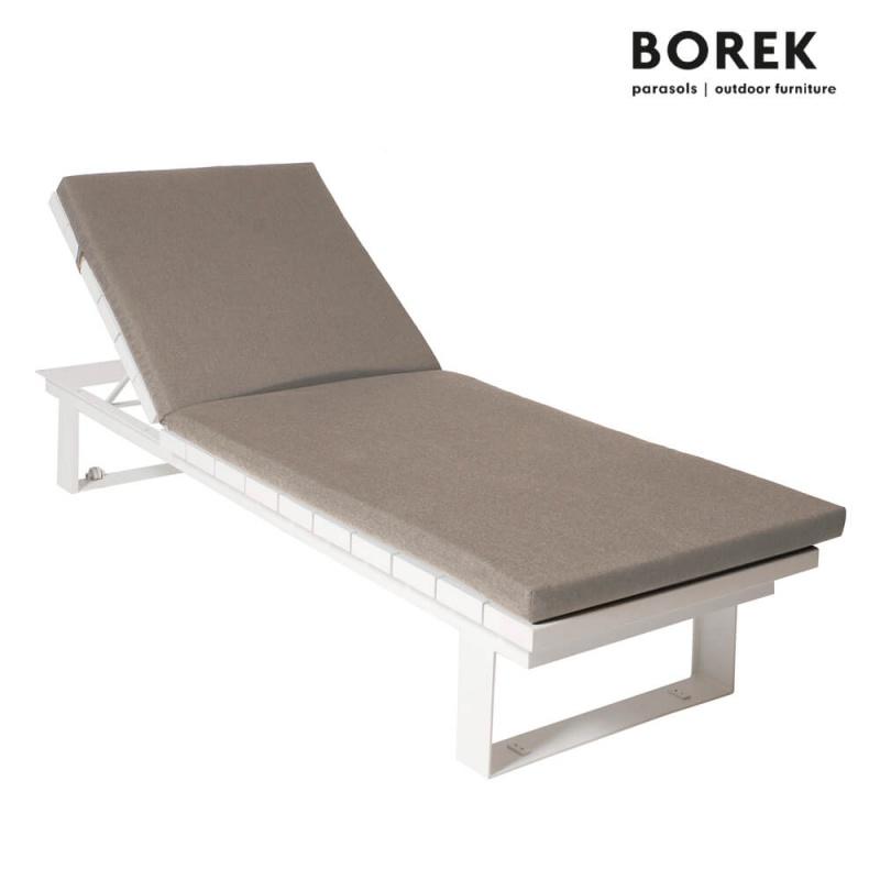 moderne gartenliege samos von borek alu. Black Bedroom Furniture Sets. Home Design Ideas
