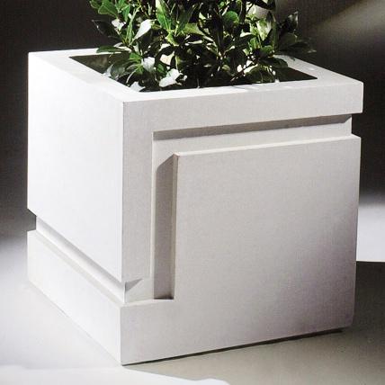 moderner blumenk bel eckig adelphius. Black Bedroom Furniture Sets. Home Design Ideas
