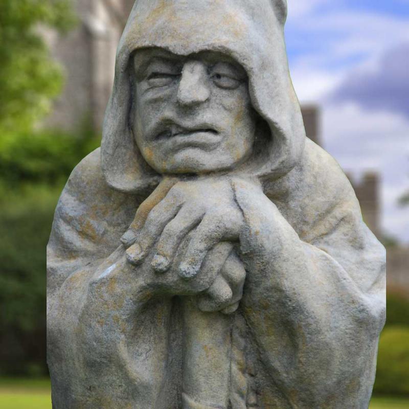Mystische Kobold Steinfigur  Duncan