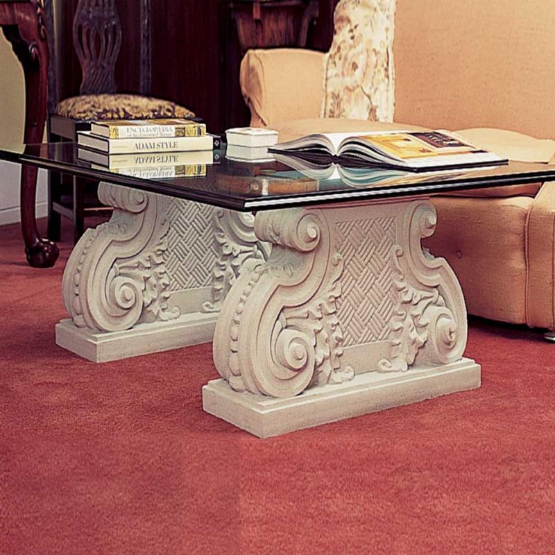 naturstein tisch mit glas platte duddon old hall. Black Bedroom Furniture Sets. Home Design Ideas