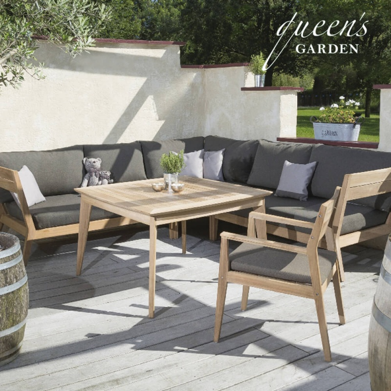 outdoor loungem bel kent komplettset mit tisch. Black Bedroom Furniture Sets. Home Design Ideas
