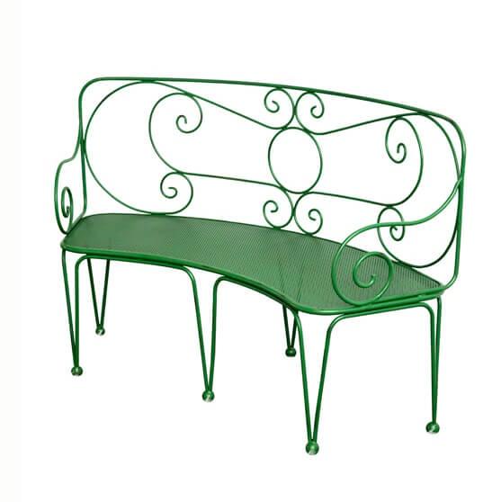 gartenbank aus metall gartenbank aus metall im. Black Bedroom Furniture Sets. Home Design Ideas