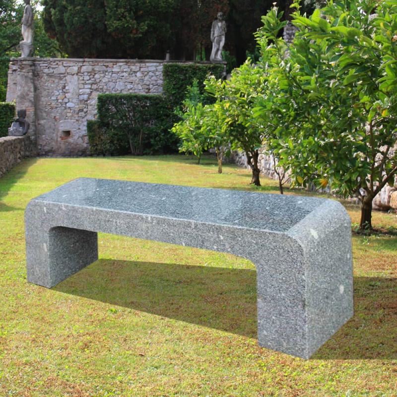 sitzbank evora aus naturstein. Black Bedroom Furniture Sets. Home Design Ideas