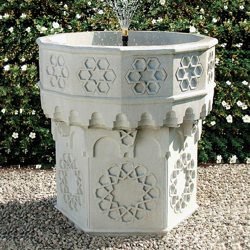 stein gartenbrunnen mit pumpe andalucia. Black Bedroom Furniture Sets. Home Design Ideas