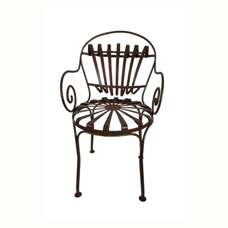 gartenstuhl jean aus gusseisen antik. Black Bedroom Furniture Sets. Home Design Ideas
