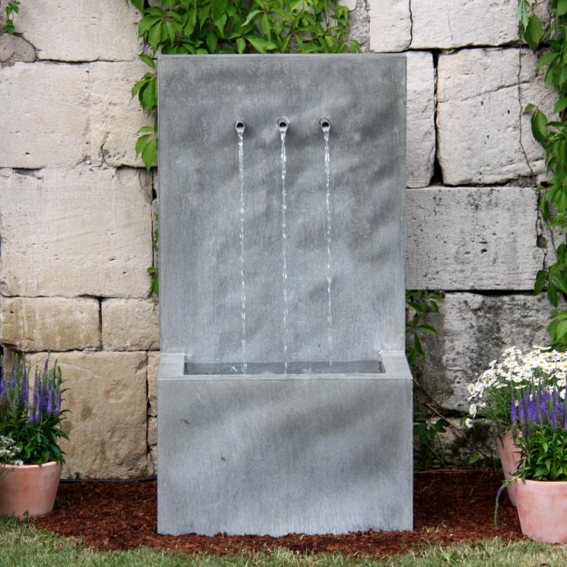 zink garten springbrunnen tre brillare. Black Bedroom Furniture Sets. Home Design Ideas