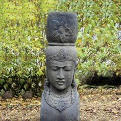 Asiatische skulpturen versandkostenfrei kaufen - Asiatische gartendeko ...