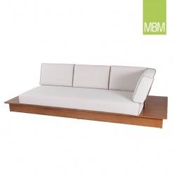 Garten ecksofa von borek murcia grau for Couch auflage