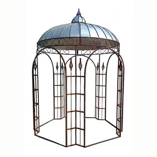 antik pavillon sidonie f r den garten. Black Bedroom Furniture Sets. Home Design Ideas