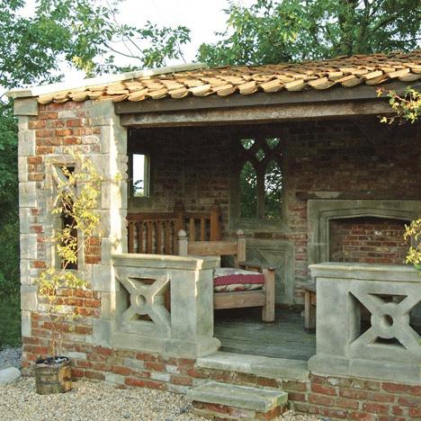Garten haus ruine farrington lodge - Gartenhaus romantisch ...