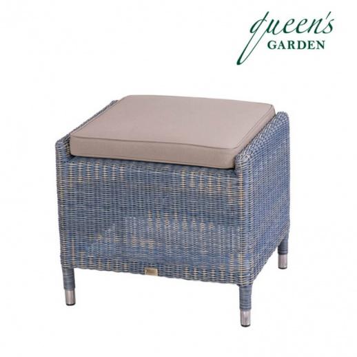 garten hocker country alu geflecht. Black Bedroom Furniture Sets. Home Design Ideas