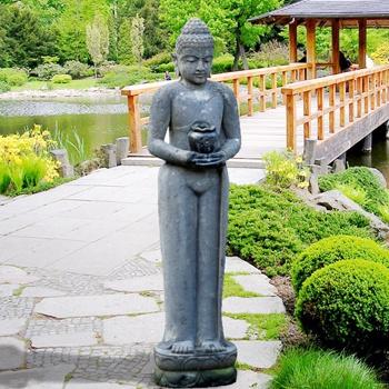 gro e buddha figur f r den garten k nstlerarbeit. Black Bedroom Furniture Sets. Home Design Ideas