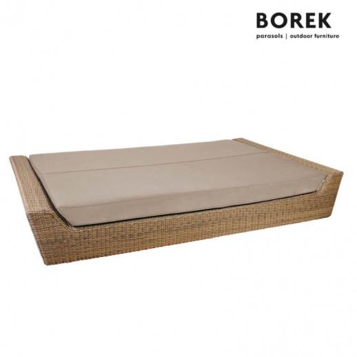gro e gartenliege f r zwei bali polyrattan. Black Bedroom Furniture Sets. Home Design Ideas