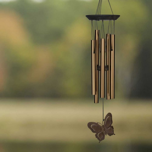 klangspiel zum aufh ngen butterfly. Black Bedroom Furniture Sets. Home Design Ideas
