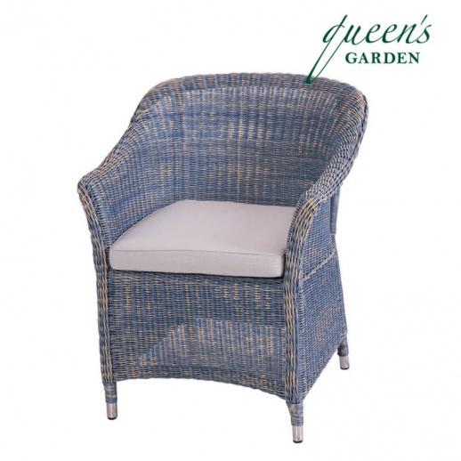 korbsessel country f r garten terrasse. Black Bedroom Furniture Sets. Home Design Ideas