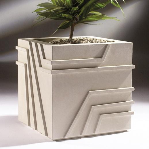 pflanztopf eckig modern future strap. Black Bedroom Furniture Sets. Home Design Ideas