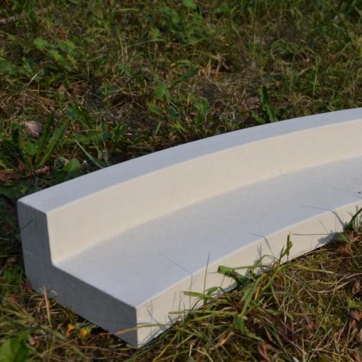 rasenkanten stein aus beton arcadian. Black Bedroom Furniture Sets. Home Design Ideas