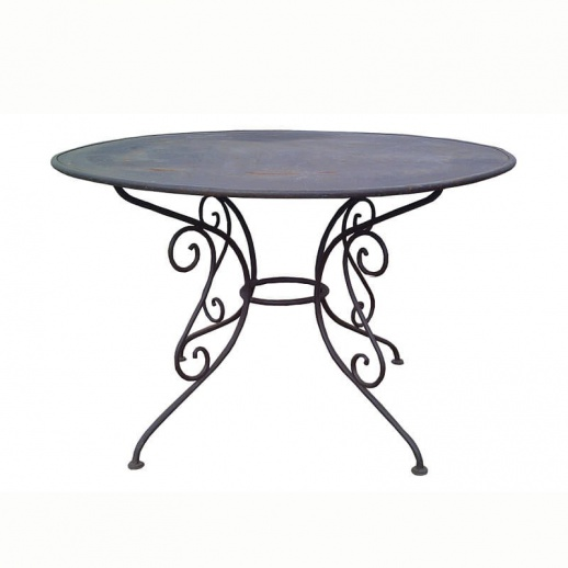 Runder Garten Tisch »Urbain« aus Metall • Gartentraum.de