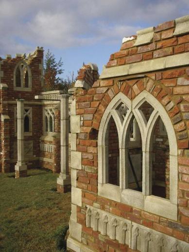 Stein ruinen fenster bausatz ockwell - Fenster zumauern welcher stein ...