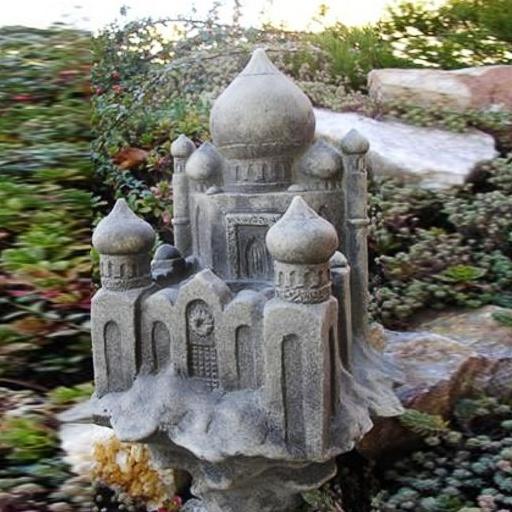 Steinguss gartendeko rosenpalast for Gartendeko aus stein und metall