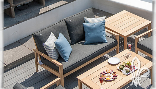 sch nes gartensofa 2 sitzer darwin kaufen. Black Bedroom Furniture Sets. Home Design Ideas