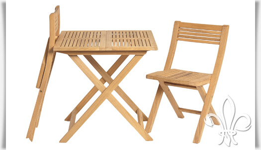Gartenmöbel Set für Zwei »Darwin« klappbar • Gartentraum.de