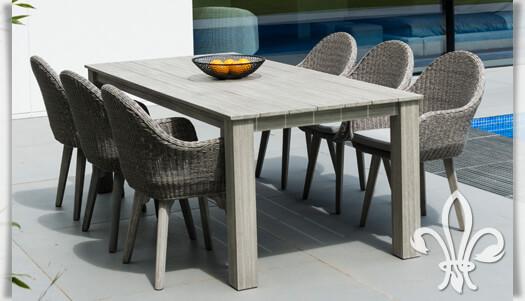 Holz Gartenmöbel Set Angebote ~ Gartenmöbel rattan weiß