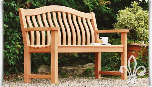 gartenbank dalton 3 sitzer im englischen stil. Black Bedroom Furniture Sets. Home Design Ideas