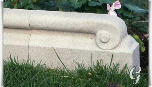 Beeteinfassung Beton endstück für rasenkanten stein holford gartentraum de