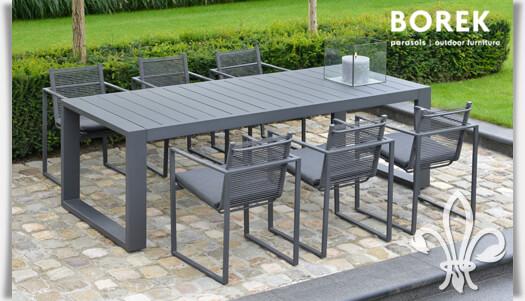 Gartenmöbel modern alu  Moderne Garten Sitzgruppe »Andria« Aluminium • Gartentraum.de