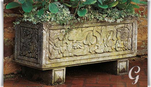 antik stein blumenk bel gro xxl coley park. Black Bedroom Furniture Sets. Home Design Ideas