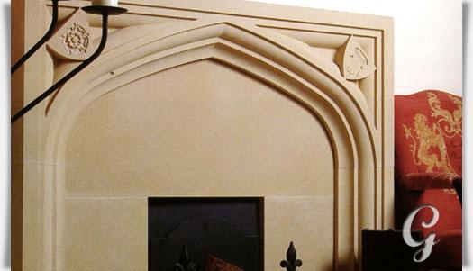 kamin fassade antik chastleton house. Black Bedroom Furniture Sets. Home Design Ideas