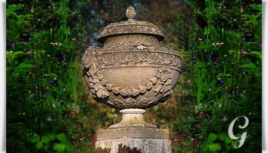 Historische stein kreuzblume bagrat for Gartendeko stein
