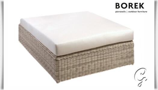 gartenlounge sitzinsel atlanta hocker. Black Bedroom Furniture Sets. Home Design Ideas