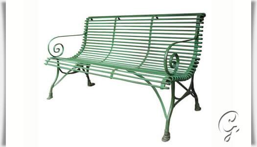 antik gartenbank 3 sitzer. Black Bedroom Furniture Sets. Home Design Ideas