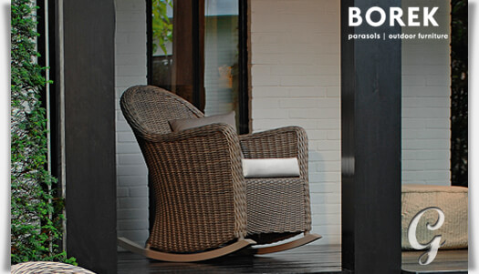 garten schaukelstuhl korbsessel barello. Black Bedroom Furniture Sets. Home Design Ideas