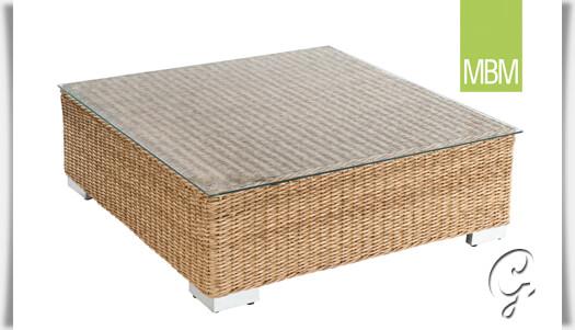 garten lounge tisch mit glasplatte bellini. Black Bedroom Furniture Sets. Home Design Ideas