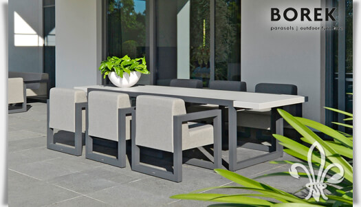 Aluminium Garten Tisch Bergen Eckig Gartentraum De