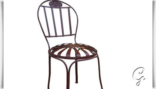 metall gartenstuhl gawain winterfest. Black Bedroom Furniture Sets. Home Design Ideas