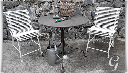Gartenmobel Metall Romantisch ? Performal.info Romantische Gartenmobel Korbstil