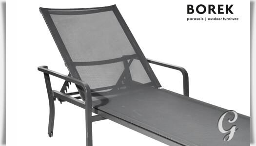 gartenliege mit rollen calpe stapelbar. Black Bedroom Furniture Sets. Home Design Ideas